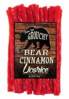Shadow River Gourmet Cinnamon Licorice Candy - Classic Hot & Spicy Red Twists