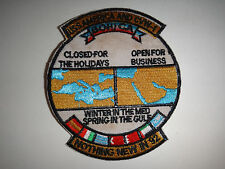 "US Navy Patch USS AMERICA And CVW-1 BOHICA ""Nothing New In 1992"""