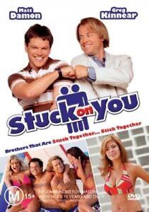 STUCK ON YOU DVD Region 4_Comedy Twins, Matt Damon, Greg Kinnear