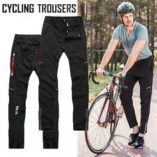 Mens Cycling Mountain MTB Bike Trousers Women Bicycle Pants Windproof Sweatpants