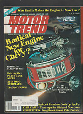 Motor Trend Magazine March 1978 Billy Mitchell's Phantom Audi 5000 Volvo