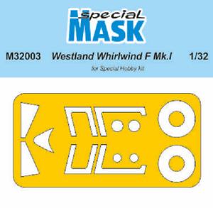 Special Hobby Mask M32003 1/32 Westland Whirlwind Mk.I