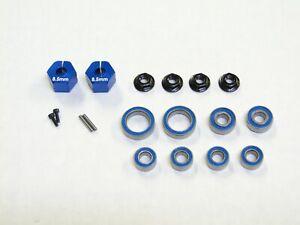 NEW ASSOCIATED SC6.2 T6.2 Bearings Axle & Rear Hex Nuts 8.5mm ACD4