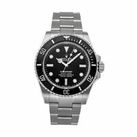 Rolex Submariner No Date Auto 41mm Steel Mens Oyster Bracelet Watch 124060