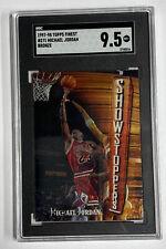 1997-98 Topps Finest #271 Michael Jordan w/ Coating SGC MT+ 9.5
