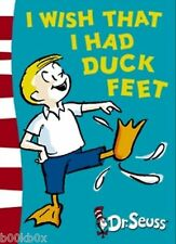 I wish that I had duck feet by Dr Deuss - New Hardcover Book