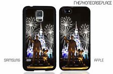Walt and Mickey Disney Castle Apple iPhone and Samsung Galaxy Phone Case Cover