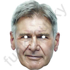 Harrison Ford Celebrity Actor Card Mask - All Our Masks Are Pre-Cut!