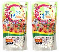 2 paquetes de wufuyuan Color tapioca Perla 250g para beber té leche Boba Bubble Tea