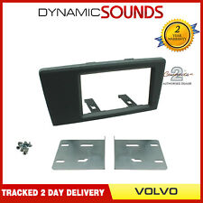 CT23VL05 Double Din Fascia Panel Adaptor Grey For Volvo S60 2000 - 2004