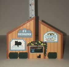 The Cats Meow Village~(1982-1997)~15 Years Building Tradition Faline 97 Rare