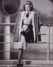 GINGER ROGERS Original Vintage 1942 JOHN MIEHLE RKO Fashion Portrait Photo