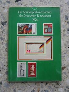 Jahrbuch 1974 - Die Sonderpostwertzeichen Bund und Berlin, komplett, postfr. **