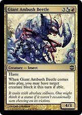 Magic the Gathering MTG Alara Reborn Giant Ambush Beetle FOIL NrMint-Mint Card