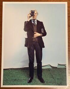 Andy Warhol 1976 Original By Annie Leibovitz Gelatin Photo