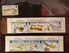 Aldereny Aircraft & Aviation Stamps Lot of 7 - MNH  - See Details for List
