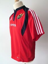 Adidas ClimaCool Munster Rugby Toyota Youth Jersey Shirt Size 16 Y. - XL - 176cm