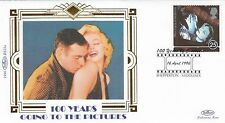 (01857) Gb Benham FDC Cinema 100 años Shepperton 16 de abril de 1996
