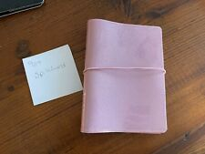 New A6 Notebook Planner Cover For A Hobonichi Techo Or Stalogy Pink Glitter