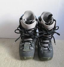 Burton Progression Matrix 2 Liner Women's Snowboard Boots Size Us 7.5 Gray