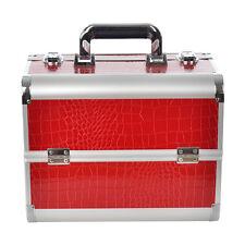 Kosmetiktasche Kosmetikkoffer Beautycase Friseurkoffer Schminkkoffer Koffer Rot