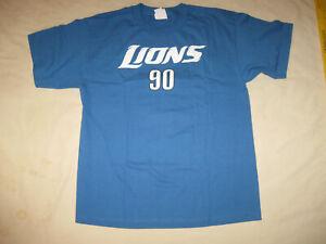 Detroit Lions Ndamukong Suh T Shirt New Youth XL Boys Kids NFL Football DET