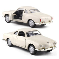 Karmann Ghia 1968 1:43 Scale Car Model Diecast Gift Toy Vehicle Collection Kids