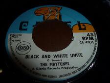 """THE MAYTONES-Black And White Unite 7""""  REGGAE/SKA  CAMEL"""