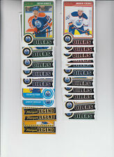 14/15 OPC Edmonton Oilers Team Set w/RCs and Legends - Hall Gretzky +