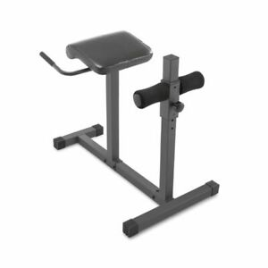 Marcy JD31 Chair Hyper-Extension Home Workout Multipurpose Bench