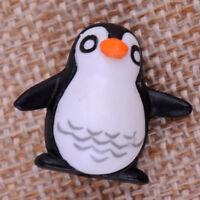 10X Mikrolandschaft Pinguin Miniatur Puppenhaus Garten Figur Bonsai Ornament 2CM