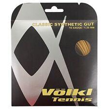 VOLKL - V22506 CLASSIC SYNTHETIC GUT 16 GUAGE  1.30 MM COLORE GIALLO DORATO 39f24234c7e67