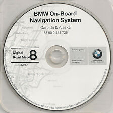 2000 2001 BMW 740i 740iL 745i 745Li X5 Z3 NAVIGATION MAP GPS DISC CD 8 CANADA AK