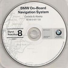 01 2002 BMW 325i 330i 325Ci 330Ci M3 M5 NAVIGATION CD 8 AK CANADA ON PE QC SK YT