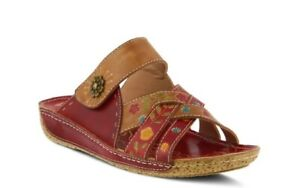Women's Spring Step Leigh-RDM Red Multi Size EU 39 US 8.5