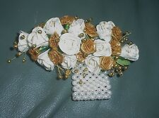 LADIES BEAUTIFUL HANDMADE  WRIST CORSAGES IN DIFFERENT COLOURS