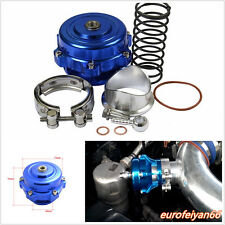 Blue Aluminum 35PSI 50mm Car JDM V-Band Blow Off Valve Intercooler BOV Boost Ki