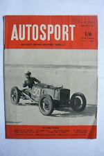 1953 feb13th AUTOSPORT MAGAZINE - 'Cummins Diesel' , Paris-ST RAPHAEL Rally