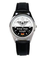 Klagt nicht kämpft Geschenk Fan Artikel Zubehör Fanartikel Uhr B-2504