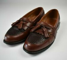 Allen Edmonds Cody Brown Chili Burnished 7 D Leather Tassel Dress Shoes