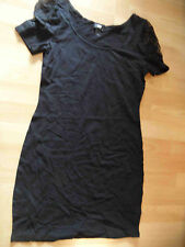 H&M schönes Jerseykleid m. Spitze schwarz Gr. M NEUw.  ZC516