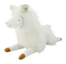 Animal Adventure Giant Llama White Fluffy Stuffed 36 24-36 Inches