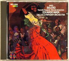 RCA DIGITAL CD 1984 JAPAN Ravel MATA Bolero/Espagnole SMOOTH CASE RCD14438