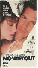 No Way Out (VHS) NEW FACTORY SEALED KEVIN COSTNER GENE HACKMAN THRILLER NOS NIP