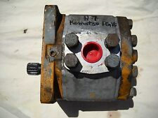 FIAT ALLIS KOMATSU HYDRAULIC PUMP C 84 03 R SPLINED  WITH PLATE