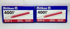 Pelikan Large GTP/5 Ink Cartridges BRILLIANT RED 2 Packs of 5 (10 Total)