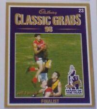 1999 Select Cadbury Classic grabs card #23 Jeff Farmer - Melbourne