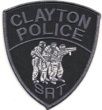 SWAT NEW JERSEY CLAYTON SRT Special Response Police Patch SEK  Polizei Abzeichen