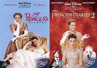 The Princess Diaries Part 1-2 John Rhys Davies, Julie Andrews 2008 NEW UK R2 DVD