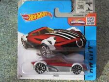 Voitures de courses miniatures rouges Hot Wheels